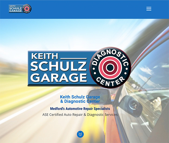 Keith Schulz Garage Website